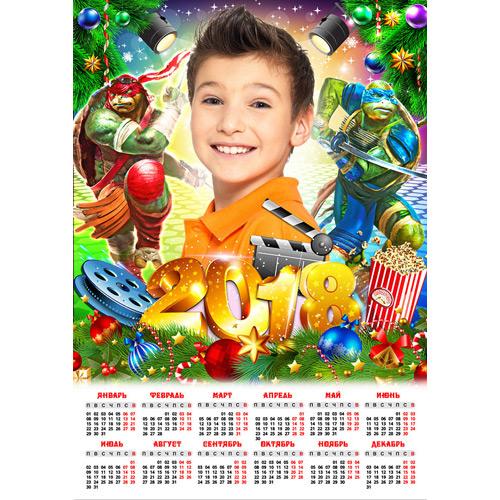 Коллажи и календари
