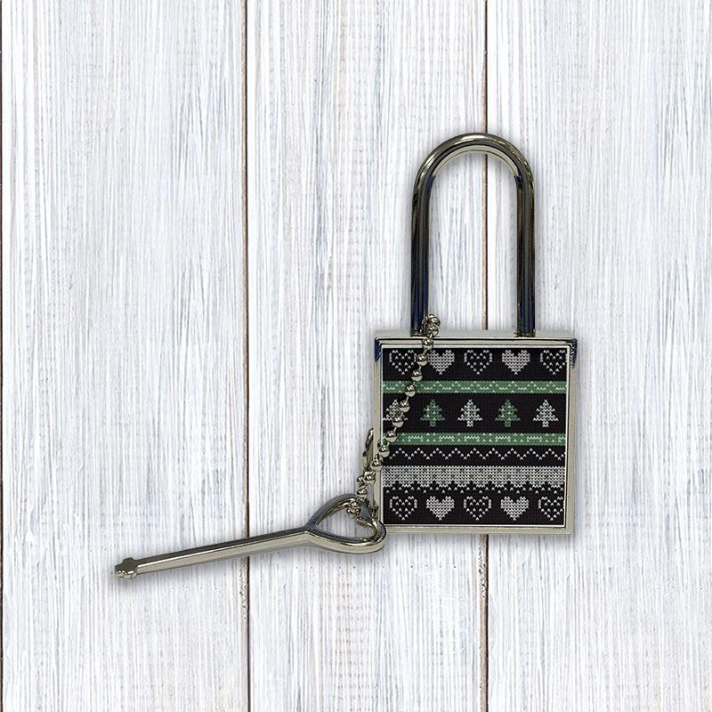 Замок с ключом